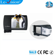 Le-Vision T1001 home cinema mini 3D polarizer LCD polarized 3D modulator for projector dlp link/ home theater system/ FPR tv