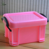 YI HONG Popular Candy Color Home Furnishing Trumpet Mini Lock Box Super Cute Storage Boxes Accessories Organizer A1067c