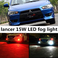 For  Mitsubishi 2008-2013 Lancer EX Sport accessories H11 15W High Power Bright 5730 15 SMD LED Car Fog Driving Light Lamp Bulb