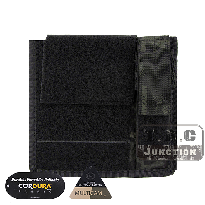 Emerson Tactical Admin Pouch Modular Map Pocket Flashlight Holder MOLLE EmersonGear Military Airsoft Accessory Pouch