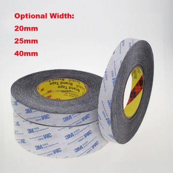 1 Meter 20mm 25mm 40mm Width 3M9448A Double Coated Tissue Tape Thermally Conductive Adhesive thermal pad for heat sink radiator 40mm width 25m length 0 2mm thickness double sided thermal conductive adhesive tape thermal tape transfer tape for pcb heatsink