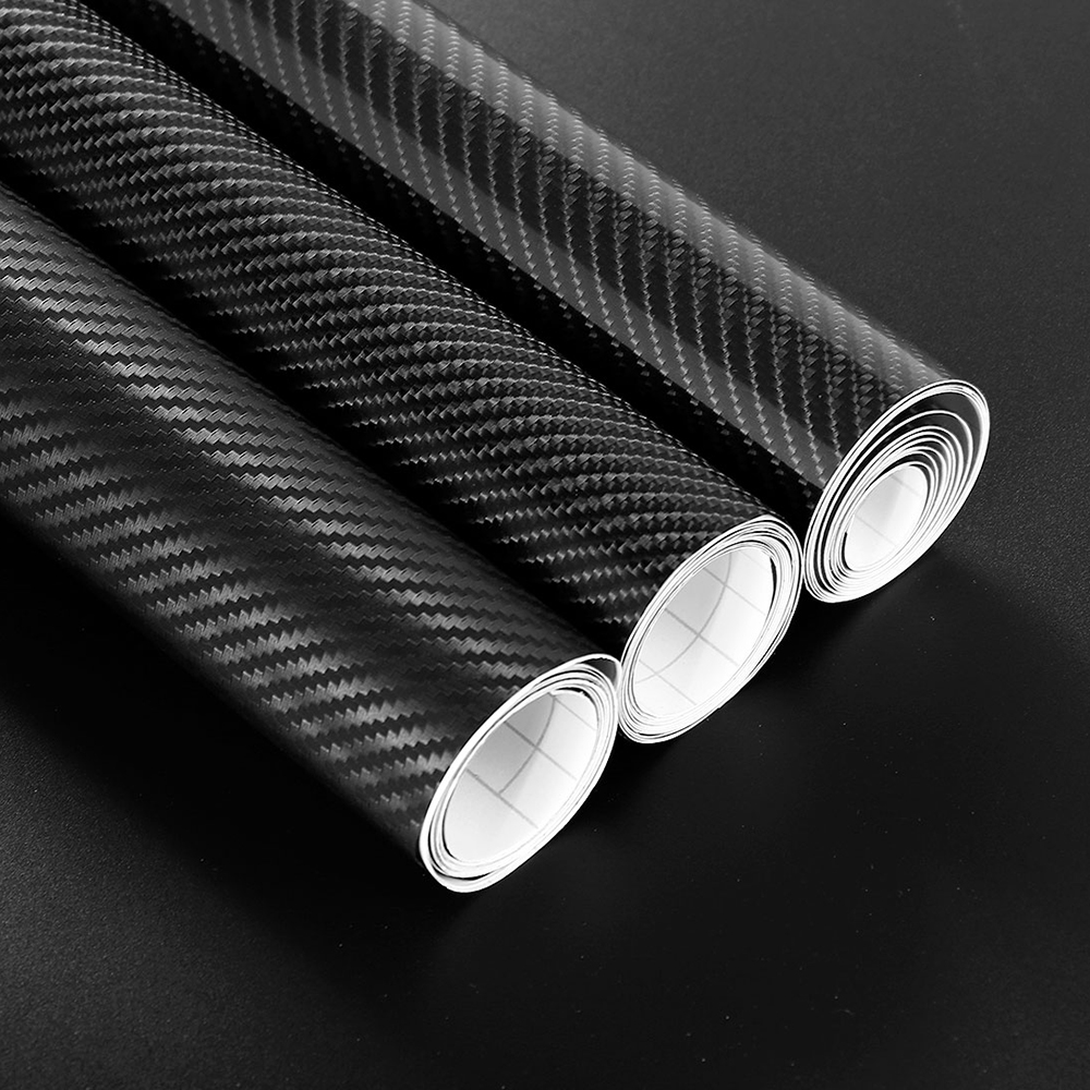 Car-styling 30*152cm 3D 4D 5D Carbon Fiber Vinyl Film Wrap DIY Waterproof Auto Motorcycle Car Stickers Decorative Accessories 10x152cm 5d high glossy carbon fiber vinyl film car styling wrap motorcycle car styling accessories interior carbon fiber film