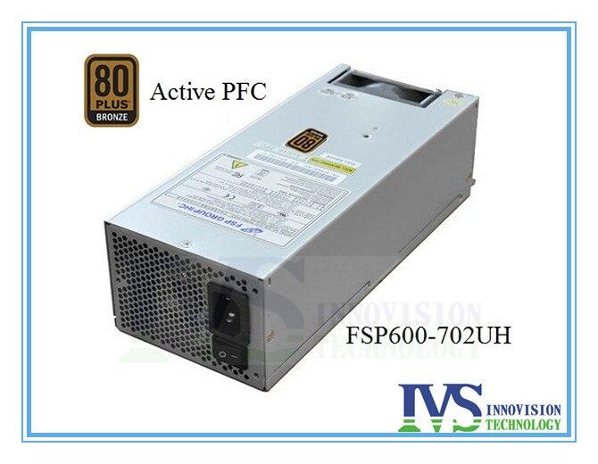 2u server power supply FSP600-702UH 600w Dual 8pins 80Plus Bronze active pfc enp 2322b rate 220w active pfc 1u server power supply