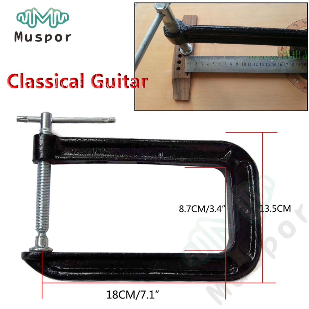 Pack of 32 Plastic Iron 4//4 Violin Top and Back Clamps Luthier Tools Kit
