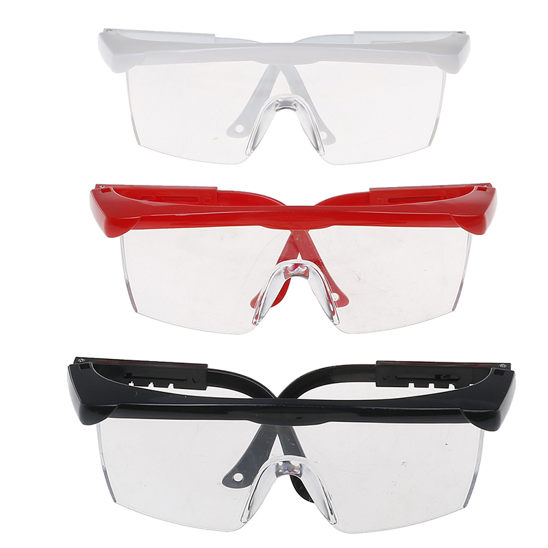 JSCYFAC 1Pc Black/White/ Red Big Frame Manicure Tool Anti UV Glasses For UV Gel Nail Art