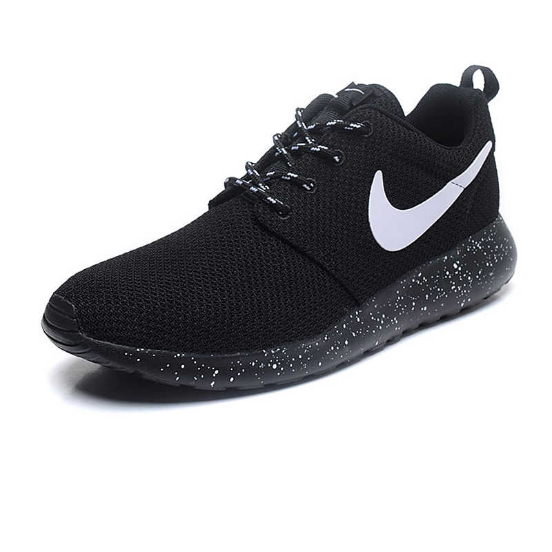 promo code c8b2a 58f9b ... Original Authentic NIKE ROSHE RUN Men s Running Shoes Sport Outdoor  Sneakers Low Top Mesh Breathable Brand ...
