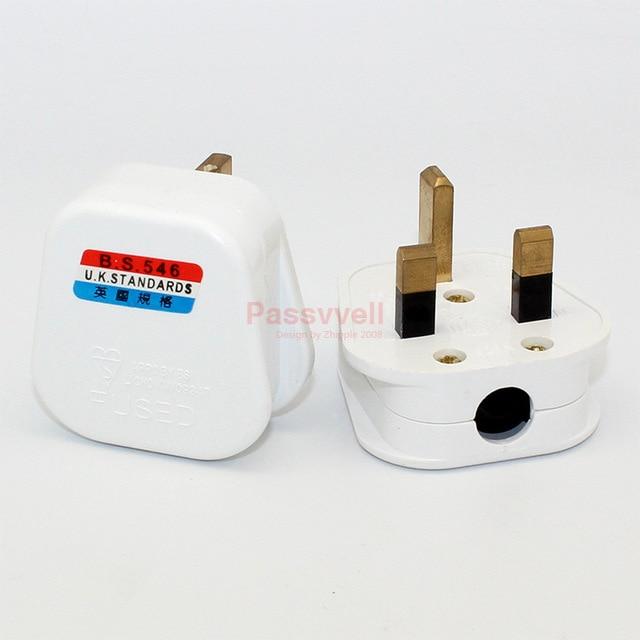 10 pcs/lot ,british standard british power plug, household, 13a250v electrical  wiring plugs british hong kong singapore bs power