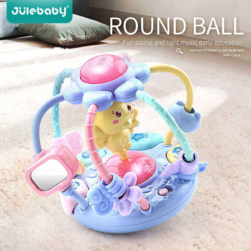 Baby Toys Baby Rattles Educational Toys For Babies Grasping Ball Puzzle Multifunction Bell Ball 0-12 0-18 Months
