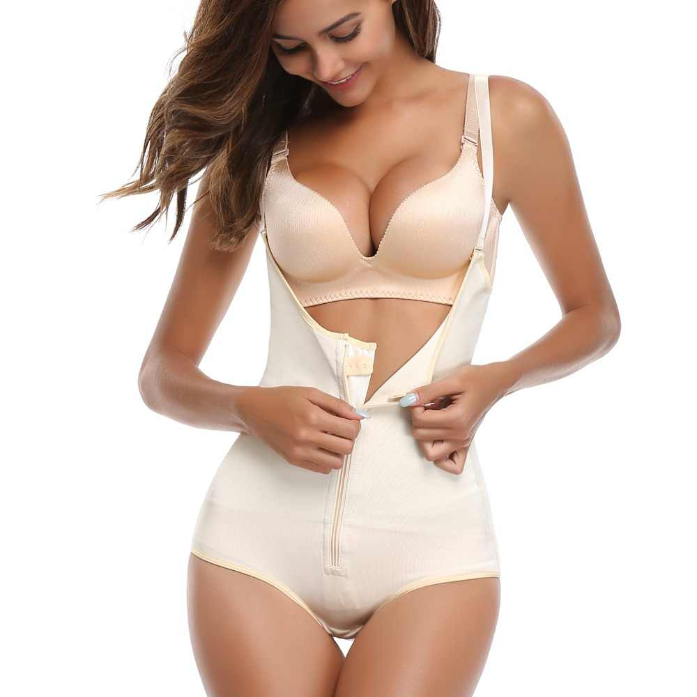 7df2b10a6af71 Fajas Reductoras Colombianas Post Surgery Slim Women Girdle Body Shaper  LATEX Corset Shapewear Waist Trainer Slip