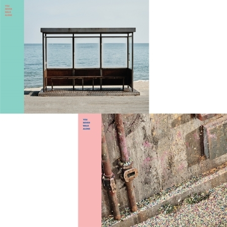 BTS - YOU NEVER WALK ALONE - ( LEFT + RIGHT VERSION/ SET) Release Date 2017.02.14 after i left you