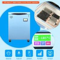 Wozniak 185 градусов морозильник лучшее качество экран сепаратор автоматическое разделение экран удаление для всех мобильных телефонов для