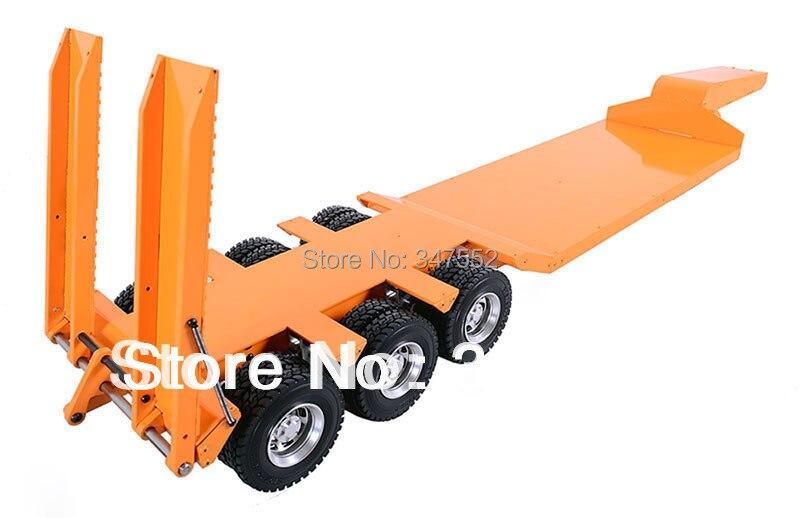 Transporteur à lit plat robuste à 1/14 échelles