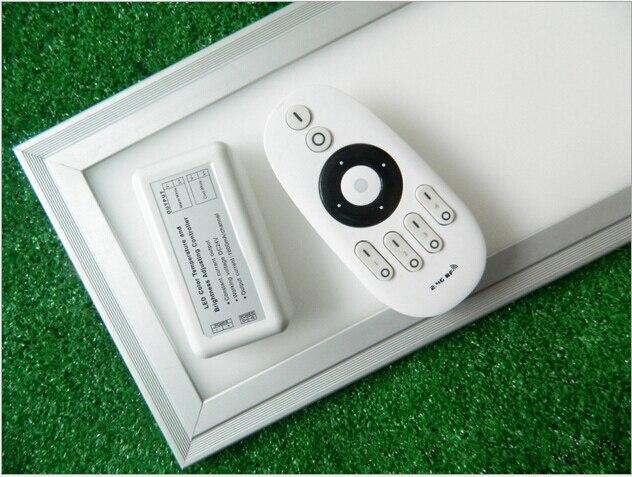 o envio gratuito de controle remoto painel de led regulavel cor mutavel 40 w 300x1200 mm