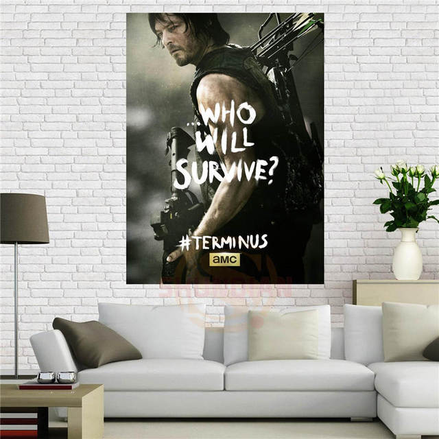 The Walking Dead (Who Will Survive? – Daryl Dixon) Poster