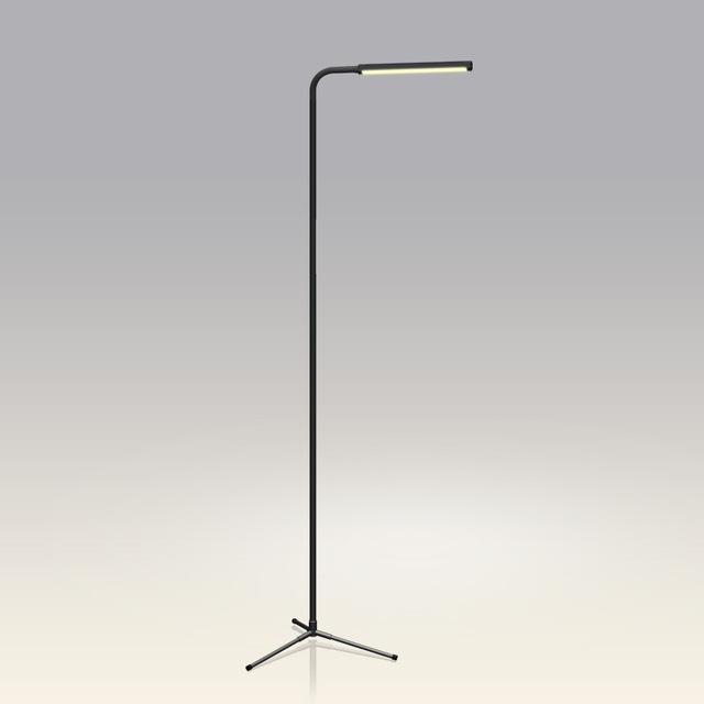 F9 control remoto dimmer lámpara de la sala de estar Moderna lámpara de pie lámpara de pie creativa contratada led el trípode