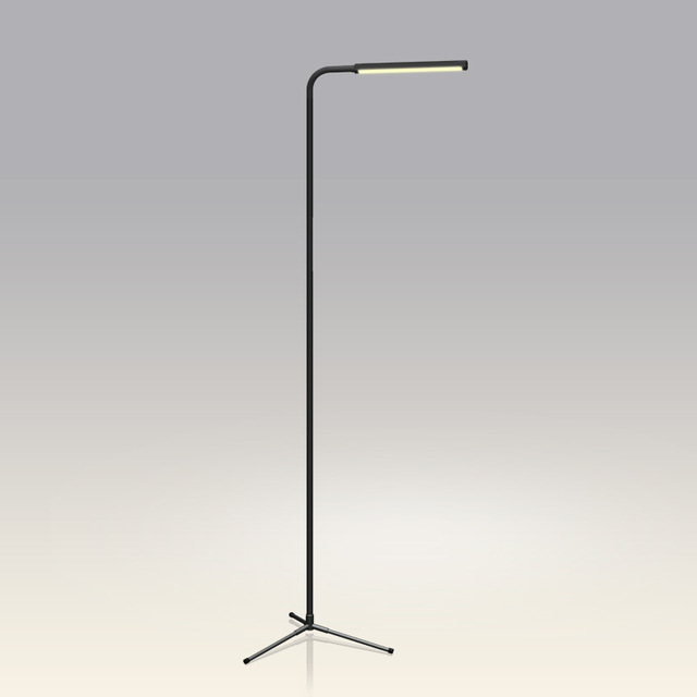 F9 remote control dimmer lamp sitting room Modern creative contracted floor lamp floor lamp led the tripod