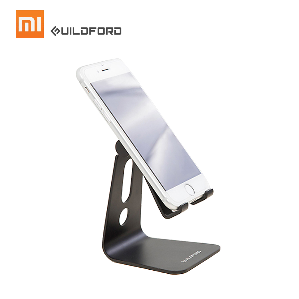 Xiaomi Mijia Guildford Holder Desk Tablet Bracket Aluminum Mount for Mobile Phone Stand Holder Adjustable Phone Stand Holder lazy neck holder stand for iphone desk 360 degree rotation mobile phone mount bracket cell holder stand