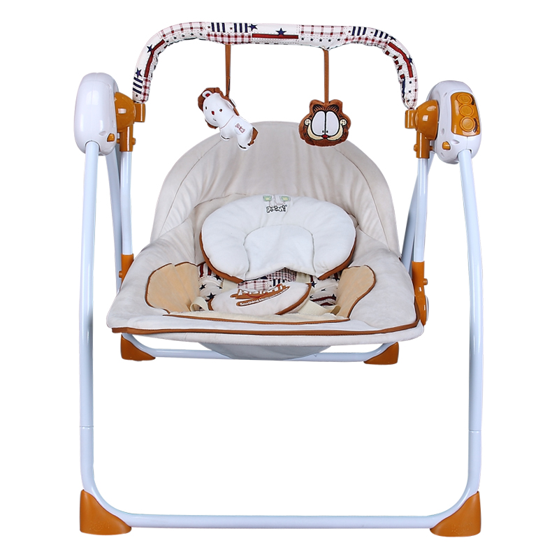 Baby gift box newborn suit newborn baby music electric rocking chair bed basket full moon gift maternal and child supplies m rondeau a newborn child