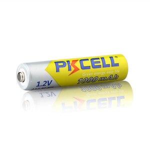 Image 3 - 2 ピース/ロット Pkcell 高エネルギー 1.2 V 1000 mah のニッケル水素 AAA 充電式バッテリーニッケル水素 3A 電池 Battria