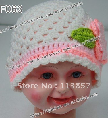 Elizabeth Crochet Hat Pattern For Child : Free shipping (10pcs/lot)100% cotton toddler and child ...