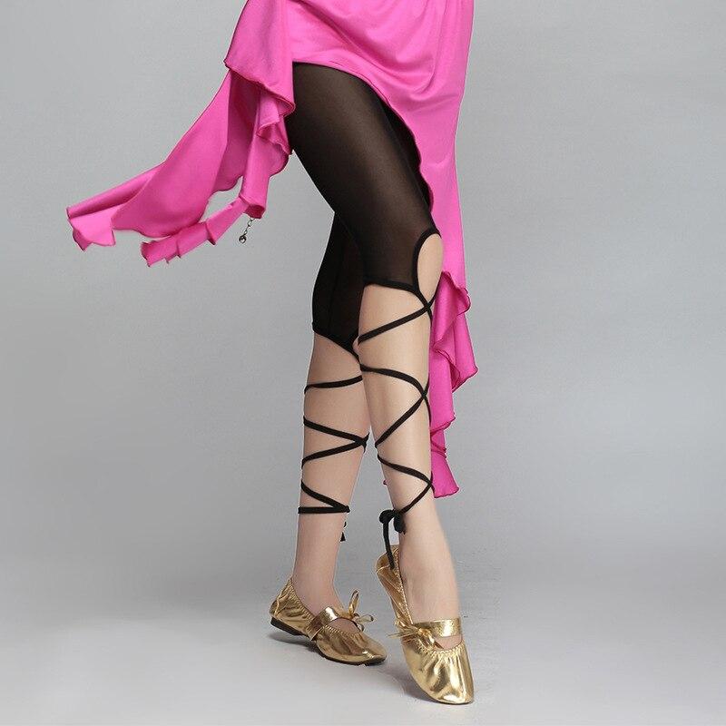 High Elastic Belly Dance Legging Tights Bandage Pants Belly Dance Pants Bellydance For Women