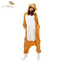SISHION Party Costumes Homewear Christmas Pyjamas Pajamas Winter Adult Women Cartoon Anime Animal Onesies Bear Sleepwear