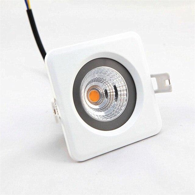 9 watt fahrer dusche zimmer lampe ac220v dimmbar wasserdicht cob downlight fr bad oder outdoor ip65 - Lampe Dusche Wasserdicht