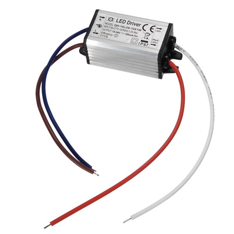 10W LED Driver AC 85-277V Power Supply <font><b>Adapter</b></font> IP67 350mA 900mA For High Power LED Light Lamp image