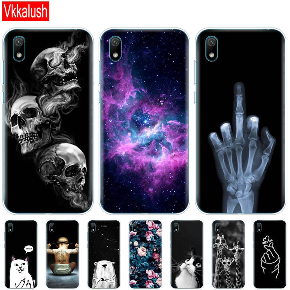 Case For Huawei Y5 2019 Case Bumper Silicon TPU Back Cover Soft Phone Case For Huawei Y5 2019  Coque Bumper 5.71