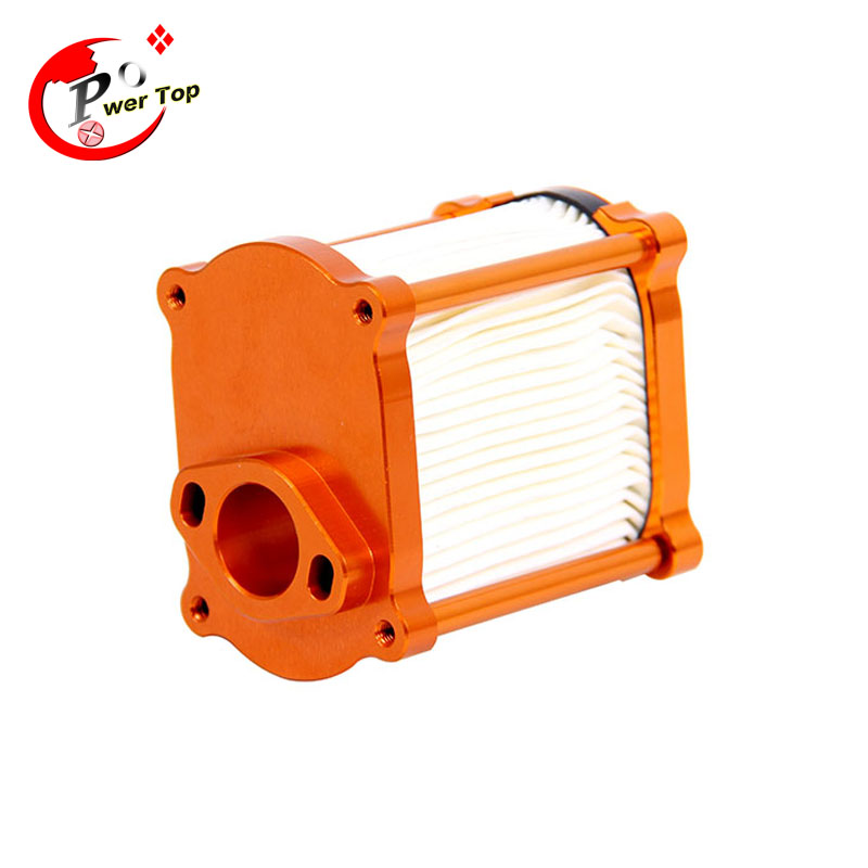все цены на  Baja CNC Alloy Air Filter for 1/5 HPI BAJA 5B Parts Rovan King Motor,free shipping  онлайн