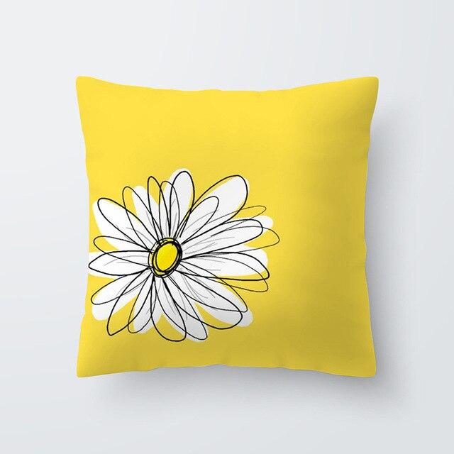 Yellow pillowcse 14