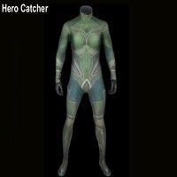 Hero Catcher Top Quality Aquaman Cosplay Costume For Woman Mera Costume