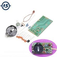 3pcs FM Frequency Modulation Wireless Microphone Module DIY Kit FM Transmitter Board Parts