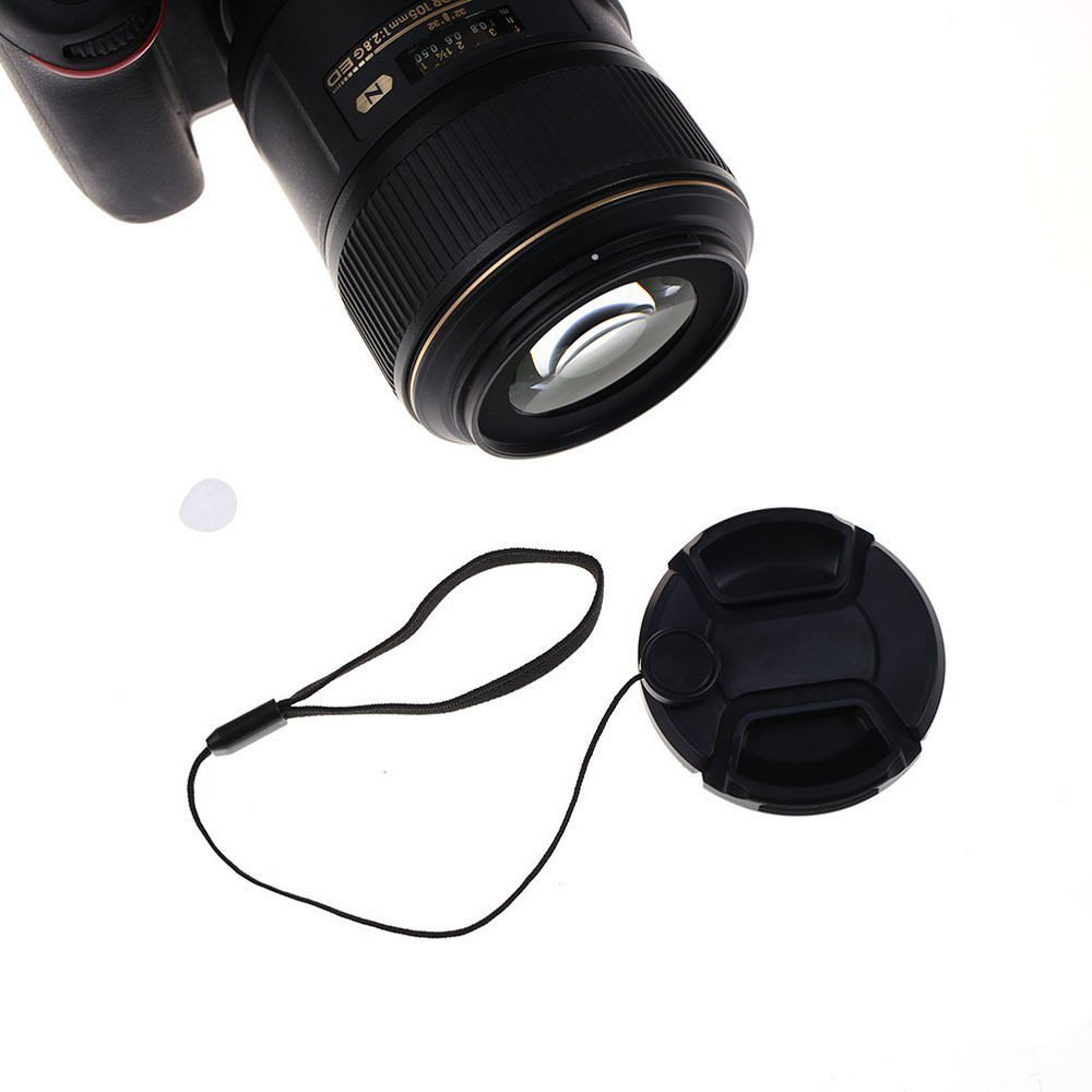 Image 5 - Kaliou 2pcs Universal Anti lost Lens Cover Cap Keeper Holder Safety Rope for Canon Nikon Sony Panasonic Fujifilm Camera DSLR-in Photo Studio Accessories from Consumer Electronics