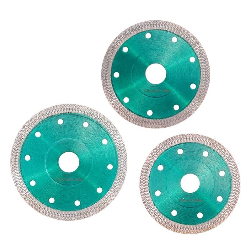 DOERSUPP Green 105/115/125mm Diamond Saws Blade Hot Pressed Sintered Mesh Turbo Cutting Disc For Granite Marble Tile Ceramic