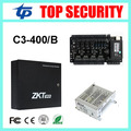 4 doors access control panel TCP/IP C3/400 card access control board with battery function power supply box biometric attendance
