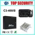 4 puertas de panel de control de acceso TCP/IP C3/400 tarjeta de acceso tarjeta de control con función de fuente de alimentación de batería de seguridad biométrica asistencia