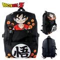 Dragon Ball/ Dragon ball Z Goku Nylon Backpack Cartoon School Bag Student Bags Double Shoulder Waterproof Boy Girls Schoolbag