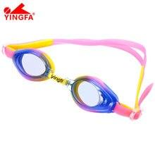 Очки для плавания YINGFA J520AF, для детей, подростков, регулируемое плавание, дайвинг очки для глаз, очки, спортивная одежда для плавания