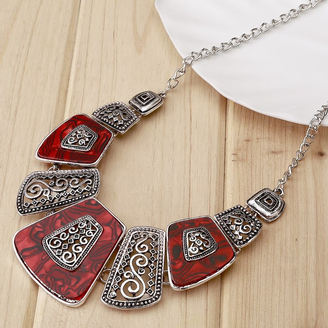 Bohemian Ethnic Fashion Necklace