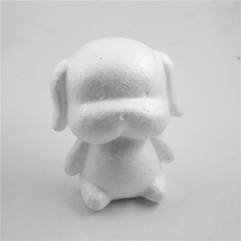 1PC Modelling Polystyrene Styrofoam Foam Bunny Rabbit Dog White Craft Balls For DIY Christmas Easter Party Decoration Gifts