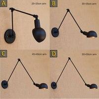 Loft Industrial Adjustable Machine Long Arm Corridor Lamp Bed Lamp Wall Lamp Fixture Lights And Lighting