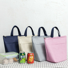 Portable Food Fresh Lunch Bag Waterproof Thermal Insulated Snack Picnic Box Carry Tote Storage Bag Travel Lunch Food Pouch все цены