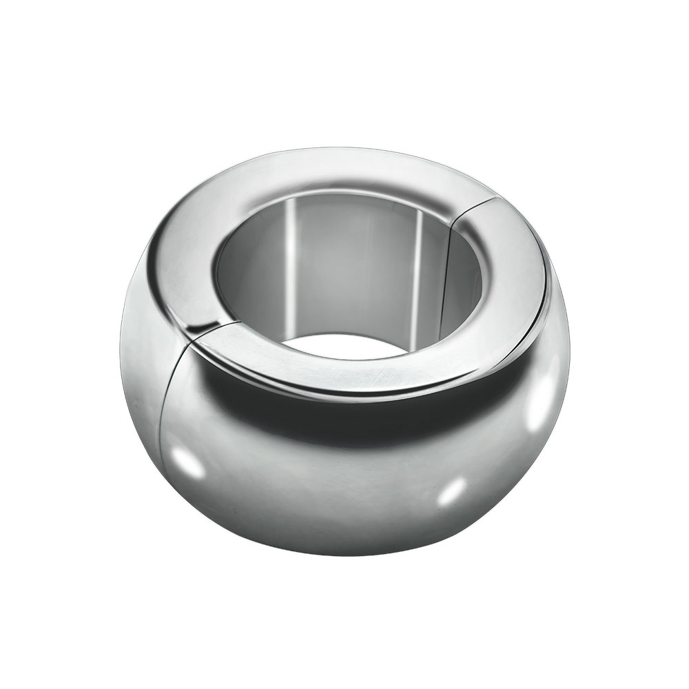 3 size choose Heavy Duty Magnetic Stainless steel Ball Scrotum Stretcher metal penis cock ring delay ejaculation new men Sex Toy