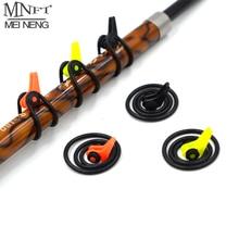 MNFT Plastic Fishing Rod Pole HooK Keeper Fishing Rod Pole Lures Bait Fishhook Holder Fishing Tackle Accessories