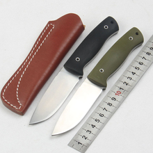 MARS MADAM D2 Knife Full Tang Tactical Knife Hunting Survival knives G10 Handle With Leather Sheaths