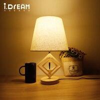 IDERAN Wooden Lamps Desk Lamp Table Lamp Indoor Lights Modern Latest Design Flexible Memory Function Color