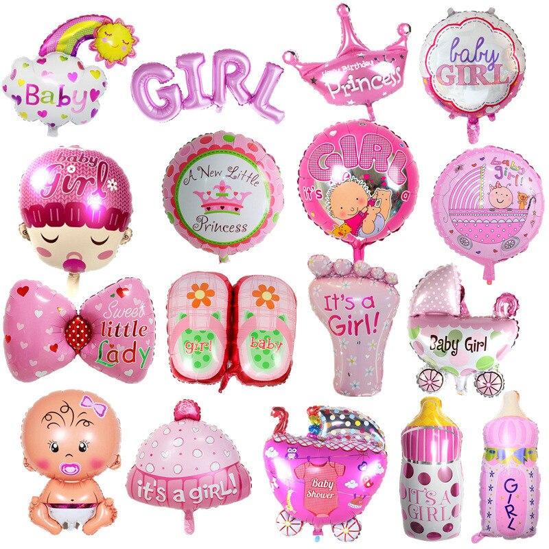 ballons-bebe-garcon-ballons-gonflables-1th-bebe-poussette-balle-pour-fille-anniversaire-gonflable-fete-decorations-enfants-dessin-anime-chapeau