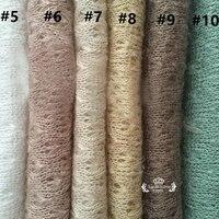 160*150 Newborn Stretch Wrap Unisex Newborn Rayon Fabric Laying Newborn Photography Props Soft Newborn Blanket Posing Backdrop