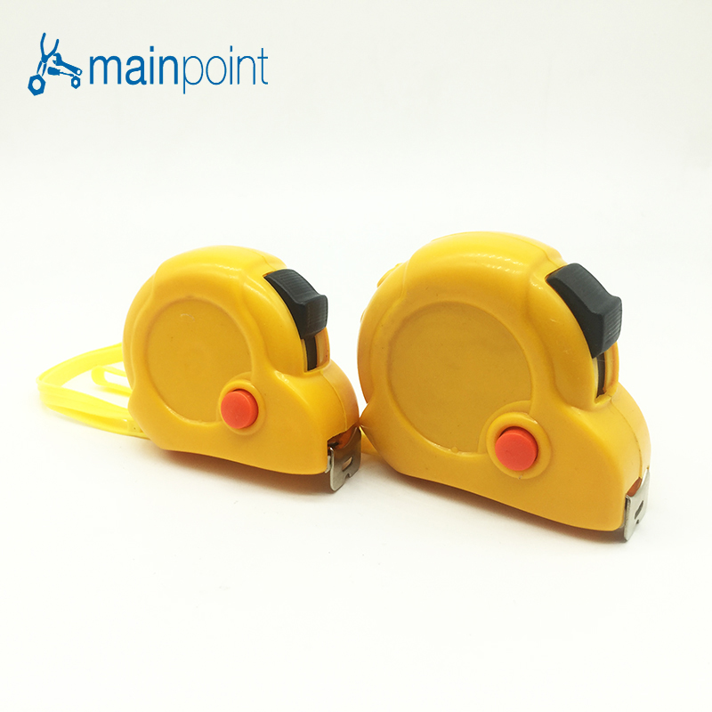 Mainpoint New 3M/5M Stainless Retractable Steel Tape Measures ruler flexible Tape Measure Meter Inch Centimeter zhenwei retractable tape measure beige white 1 5m